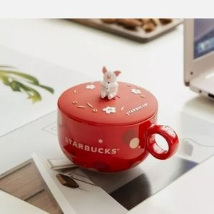 2020 Starbucks Red Pig Coffee Mug with L…